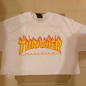 "Thrasher ""White Flames"" (woman)"